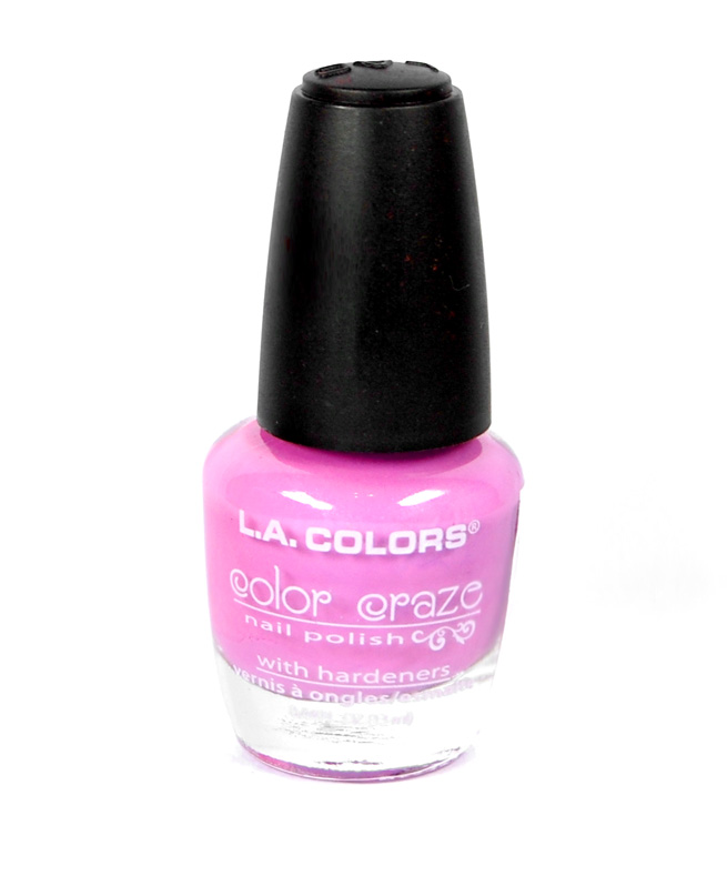 Der Color Craze Nagellack von L.A. Color.