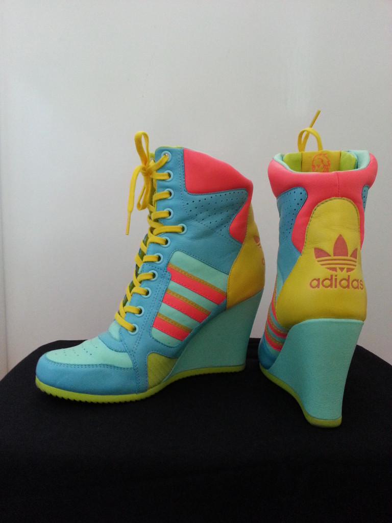 Adidas by Jeremy Scott JS Wedges High Top Sneakers