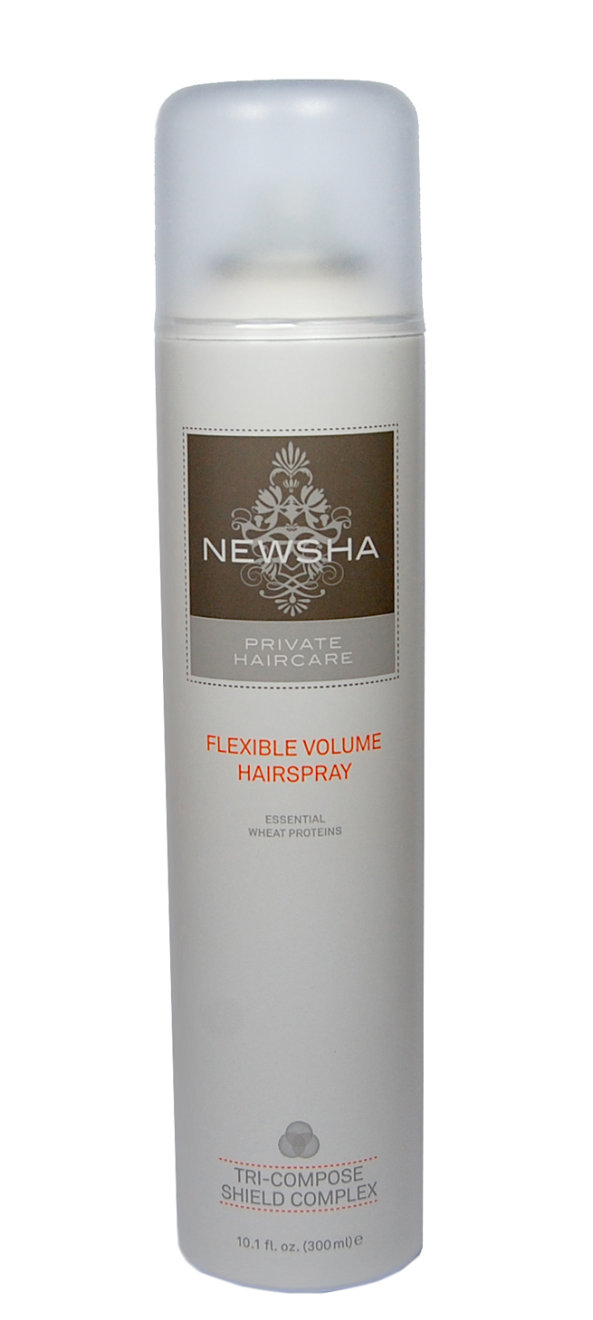 Das Newsha Flexible Hairspray.
