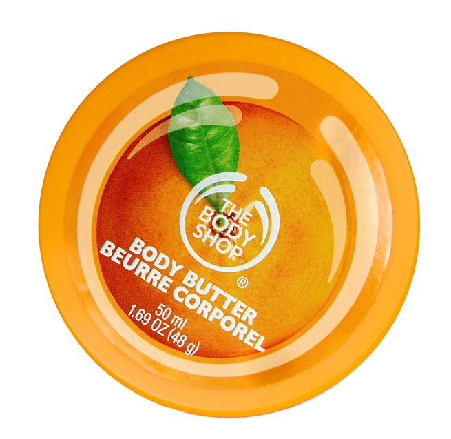 Die Satsuma Body Butter von The Body Shop.
