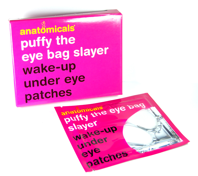 Die Puffy The Eye Bag Slayer Wake-Up Under Eye Patches von Anatomicals.