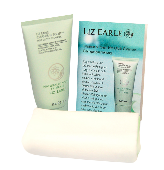 Der Cleanse & Polish Hot Cloth Cleanser von Liz Earle.