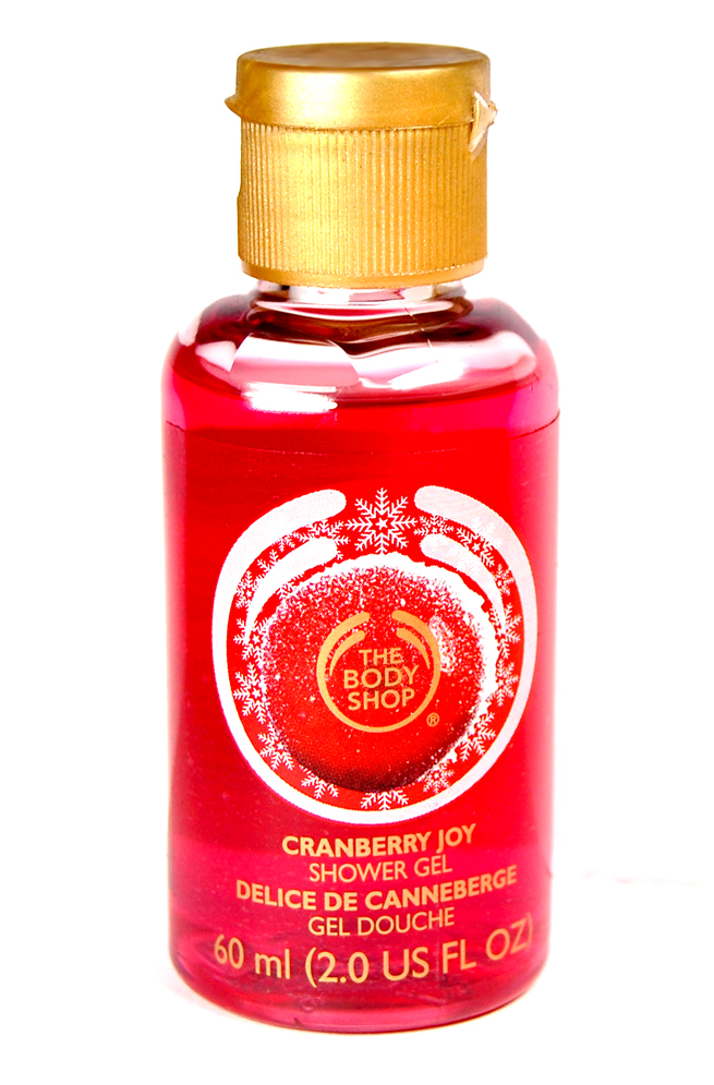 Das Cranberry Joy Shower Gel von The Body Shop