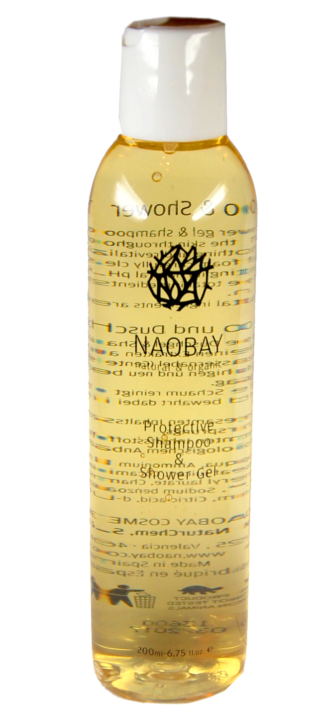 Das Protective Shampoo and Shower Gel von Naobay