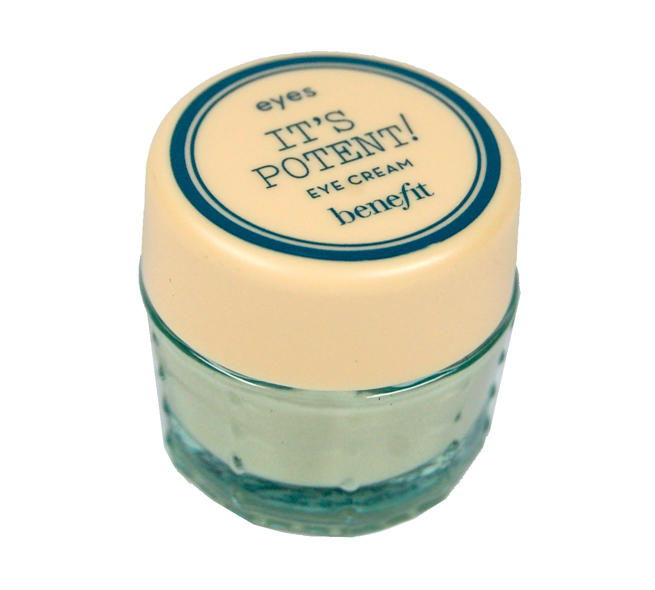 Die It`s potent! Eye Cream von benefit.