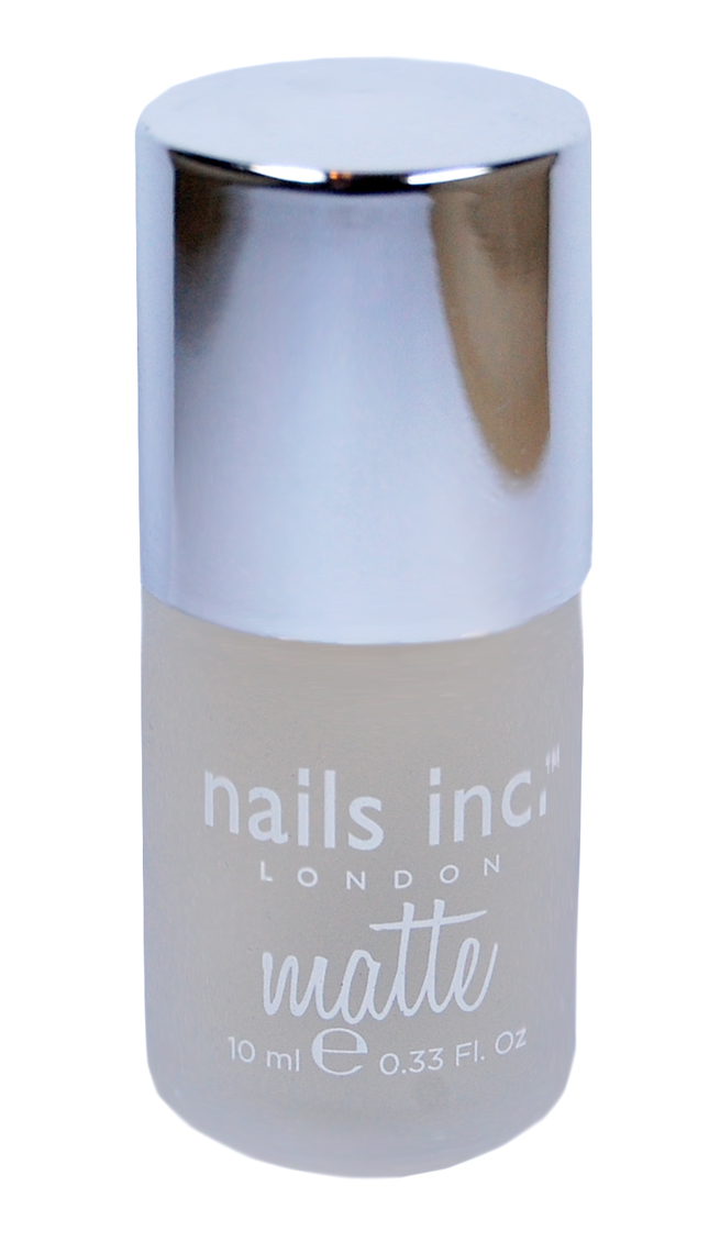 Der Westminster Bridge Matte Top Coat von Nails Inc