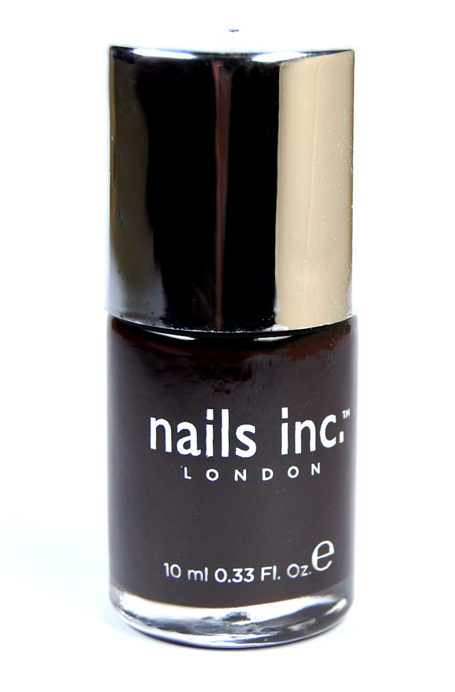 Der Nagellack von Nail inc. London.
