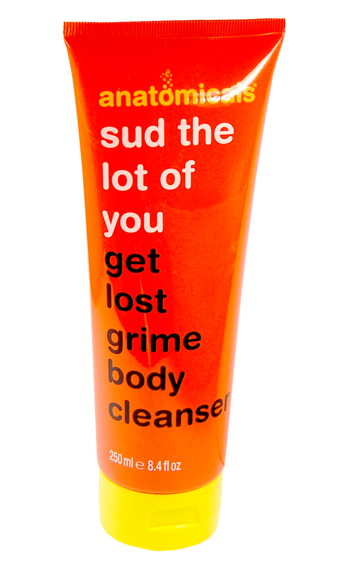 Der Sud the lot of you get lost grime Body Cleanser von Anatomicals.