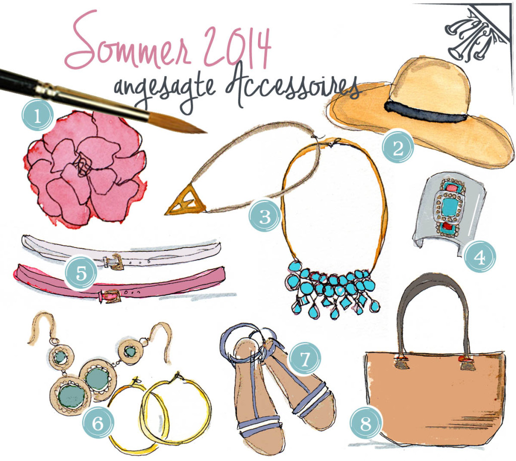 Accessoires Sommer 2014