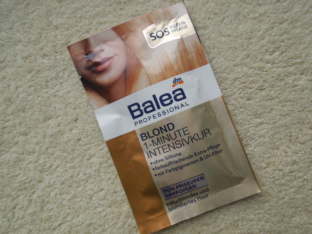 Balea Blond 1-Minute Intensivkur