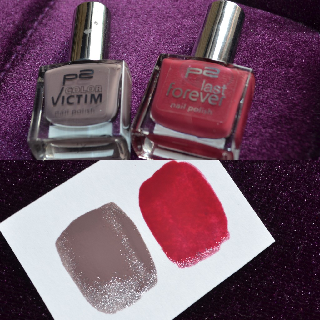p2 Color Victim 700 Rich & Royal, p2 last forever 190 hold me tight!, beide ca. 2€