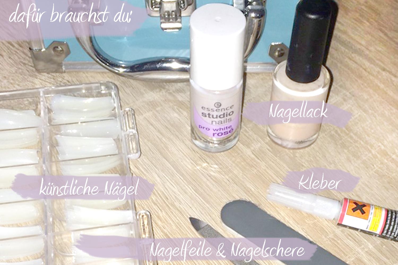 DIY: Künstliche Fingernägel ohne Gel! -