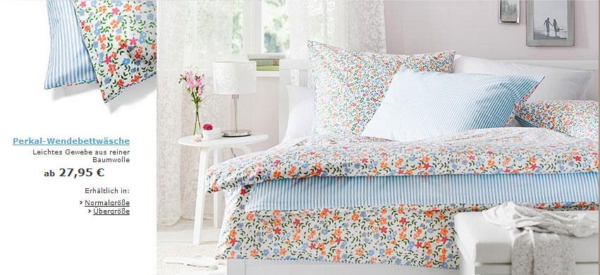 Bettwasche Tchibo Blumen