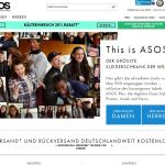 Asos Mode aus England Screenshot