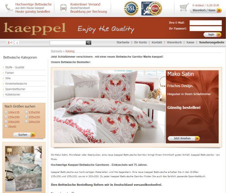 tipp bettw sche auf rechnung bersicht von shops. Black Bedroom Furniture Sets. Home Design Ideas
