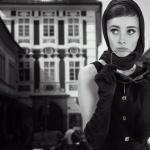 Model aus Italien, schwarz weiß