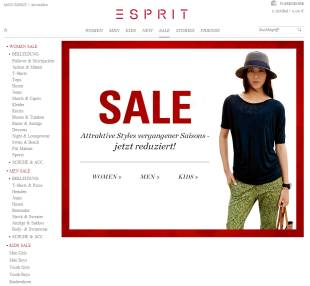 sale-bei-esprit-screenshot