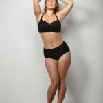 Model mit Übergewicht