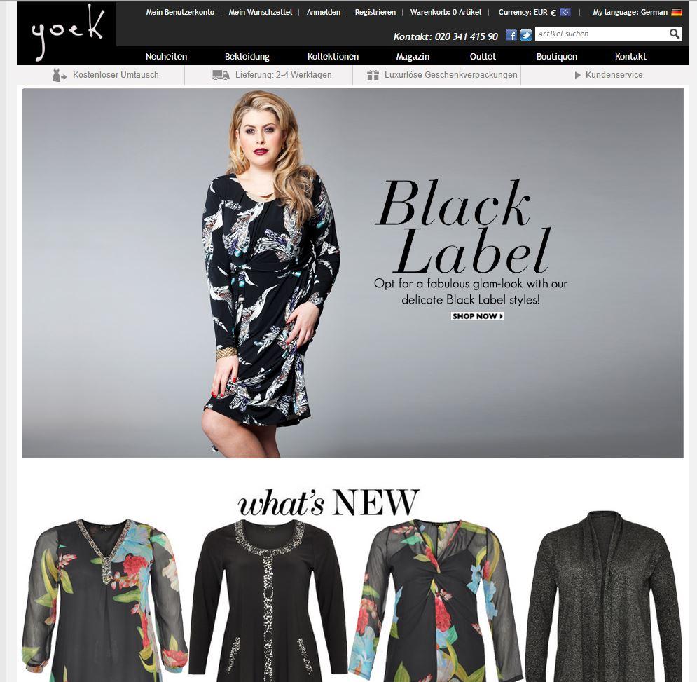 ▷ Mode für Mollige Alle Shops mit Mode in großen Größen